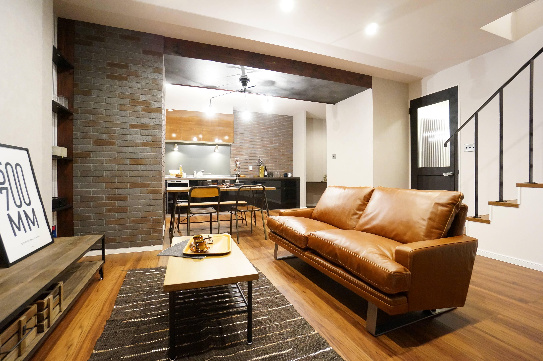 living room with sofar